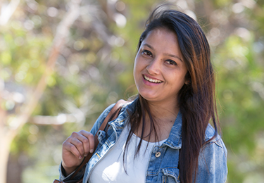 Flinders ISC student Seema from Nepal